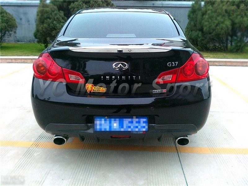 Car Accessories FRP Fiber Glass JDM Style Rear Diffuser