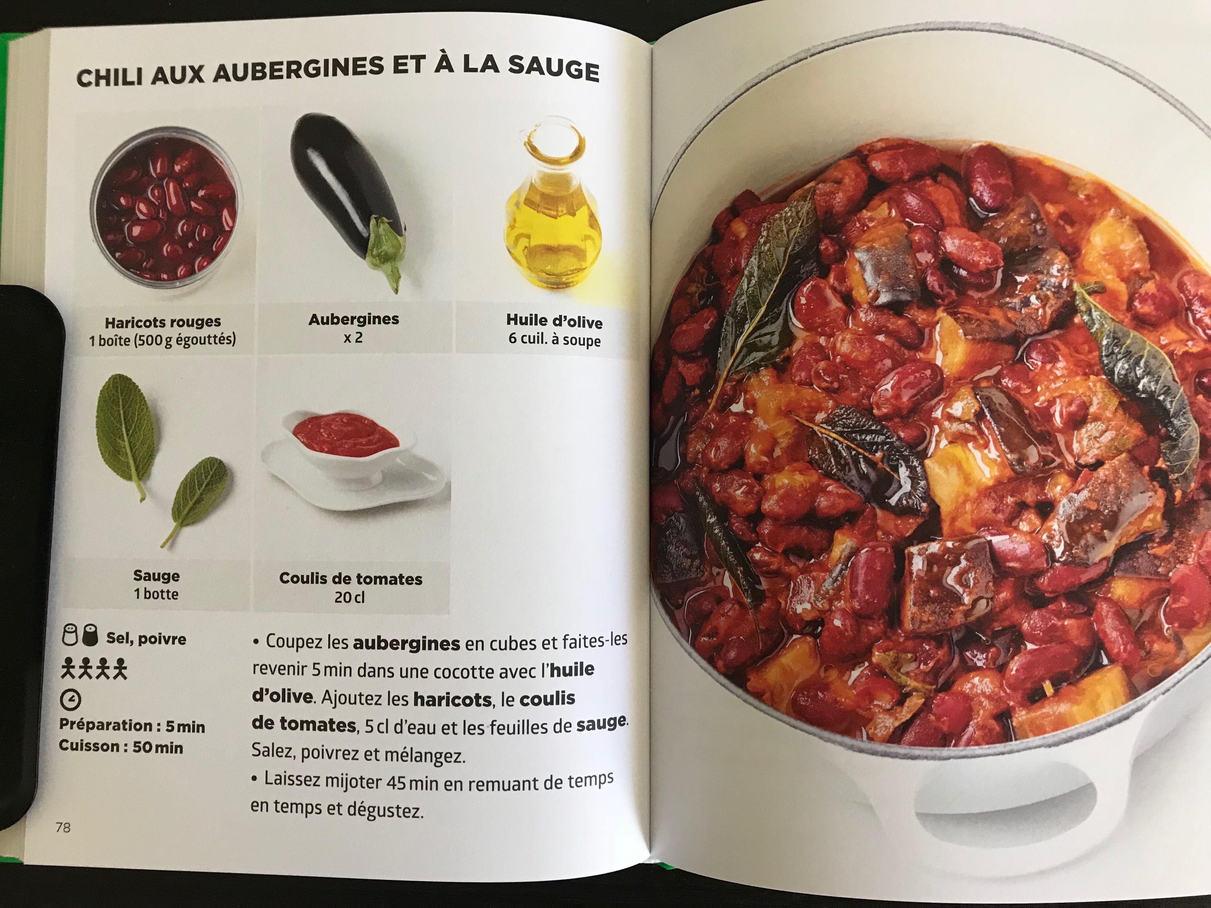 Chili Aubergines Et Sauce Simplissime En 2019 Cuisine
