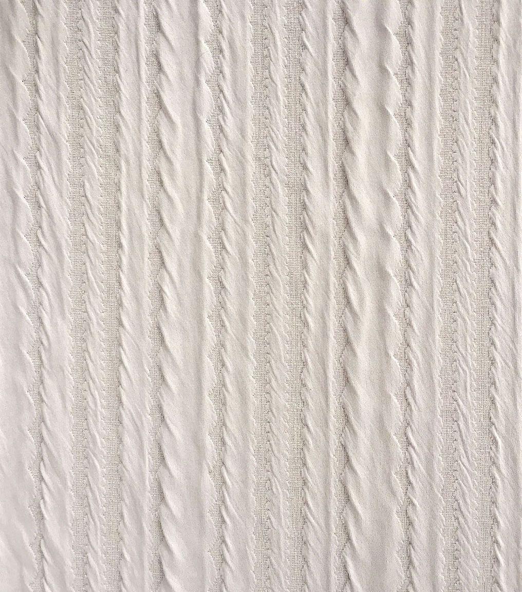 Doodles Majestic Pucker Knit Fabric-Lavender