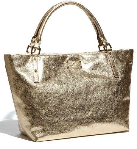 kate-spade-gold-flicker-sophie-metallic-leather gold