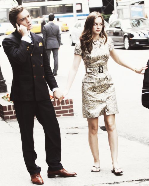 Blair and Chuck  ~The Brunette Prep
