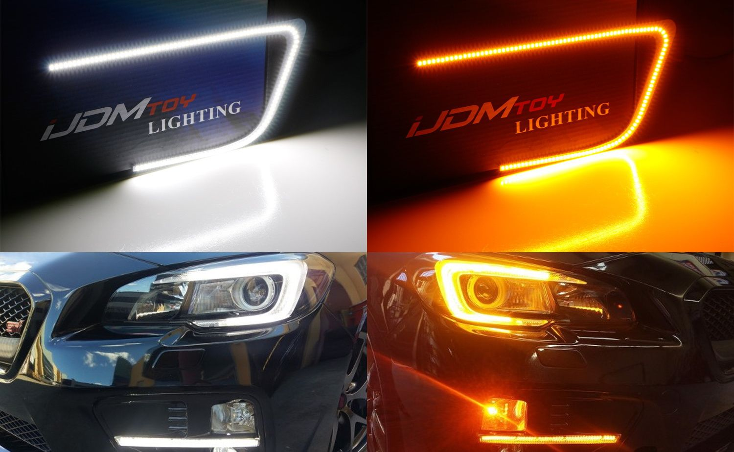 Our Dual Color Switchback Led C Ring Drl Turn Signals Fit Seamlessly In Your Wrx S Headlights And Pairs Well With Our Led Daytime Running Subaru Wrx Wrx Subaru