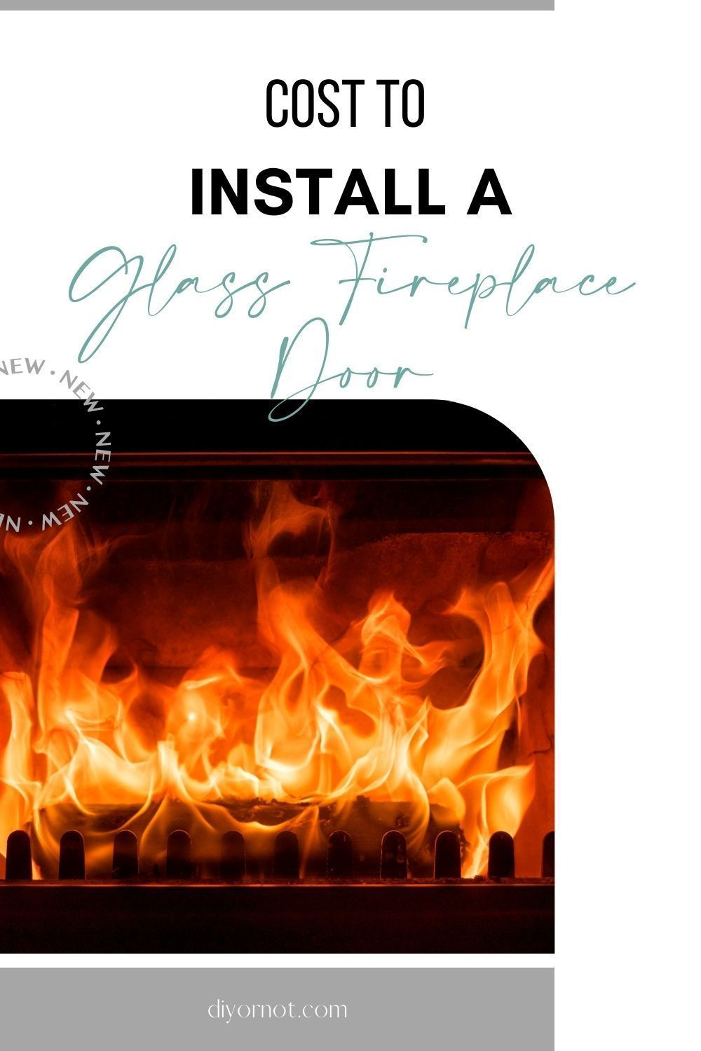 Cost To Install A Fireplace Glass Door 2020 In 2020 Fireplace Glass Doors Glass Fireplace Installing A Fireplace