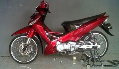 Cara Modifikasi Motor Supra X 125 Simple Honda Simple