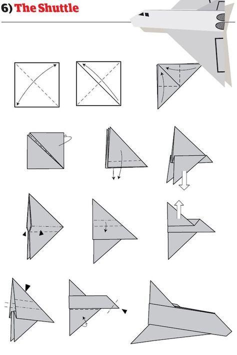 Instruction Avion Papier Mode Emploi Pliage 06 12 Instructions Pour