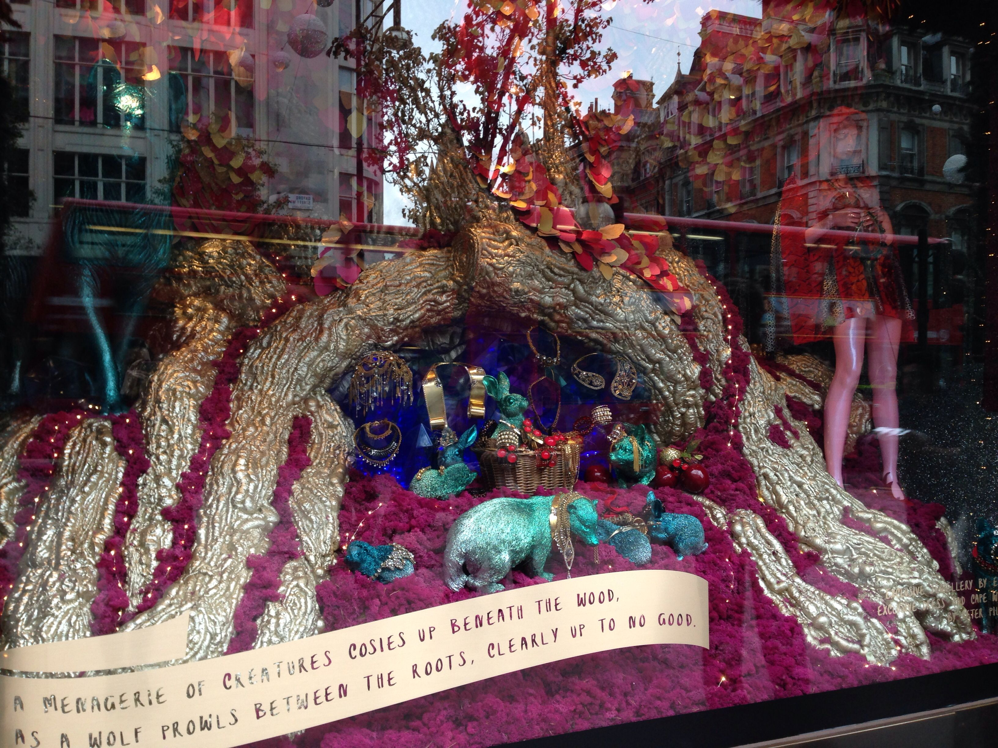 Selfridges Christmas 2014