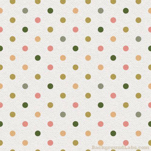 vintage polka dot