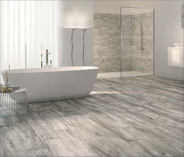 Die Besten 25 Fliesen Holzoptik Grau Ideen Auf Pinterest Fliesen Holzoptik Grau In 2020 New Homes Home Tile Bathroom