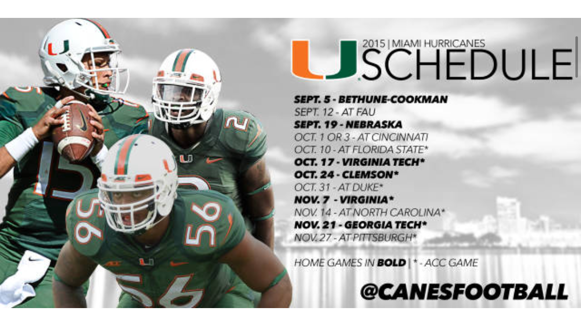 Pin by Anne on Football!!! University of miami, Florida