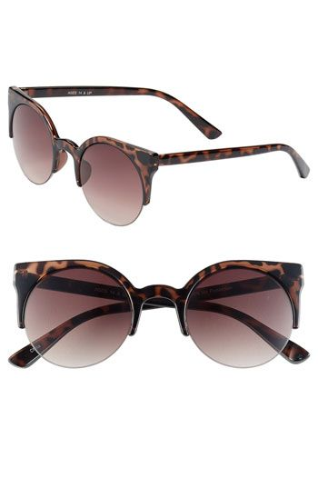 Fantas Eyes Round Sunglasses available at Nordstrom