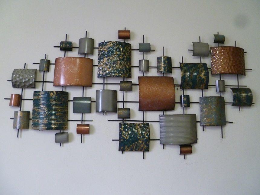 Hier ziet U bijzonder mooie 3D metalen wanddecoratie uit de ...