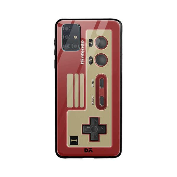 DailyObjects NES Controller Glass Case Cover For Samsung Galaxy A51 Buy Online in India - DailyObjects