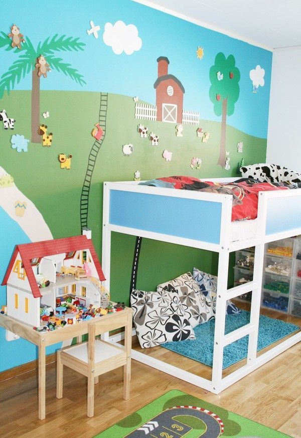 Http Www Digsdigs Com  Cool Ikea Kura Beds Ideas For Your Kids Rooms