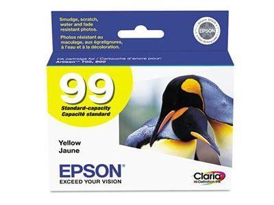 Epson Printer Cartridge - Yellow - Epson Artisan 700, Epson Artisan 800