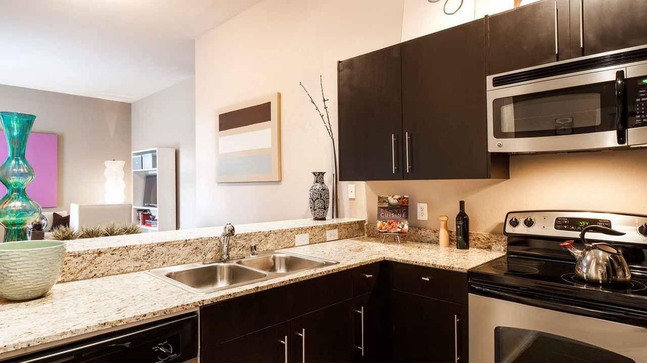 Kitchen   Dallas apartment, Kitchen cabinets, Kitchen