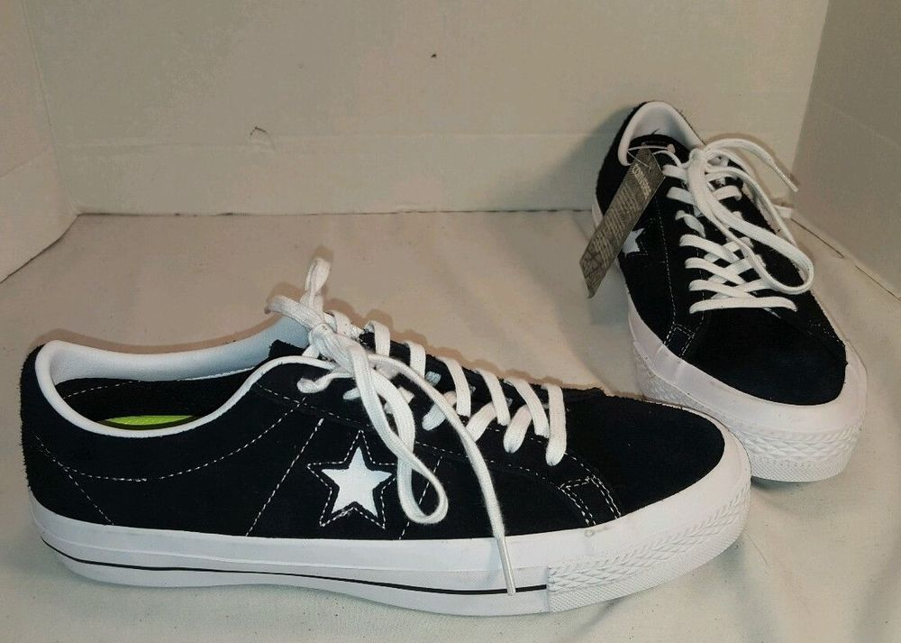 ac444288f3f1 NEW CONVERSE ONE STAR BLACK OX SUEDE LO TOP SNEAKERS SIZE MEN 8.5 WO 10.5 # CONVERSE #LOTOPSNEAKERS