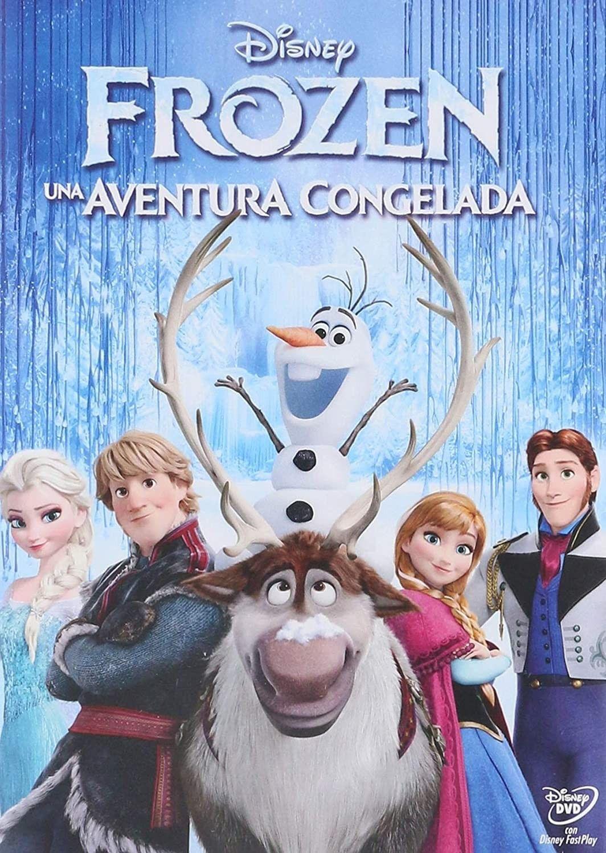 Frozen Una Aventura Congelada Cartel De Frozen Películas De Animación La Niñera Mágica