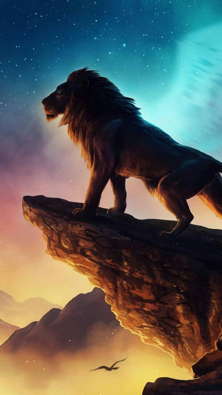 The Lion King | Disney/Pixar | Lion wallpaper, Disney lion king, Lion