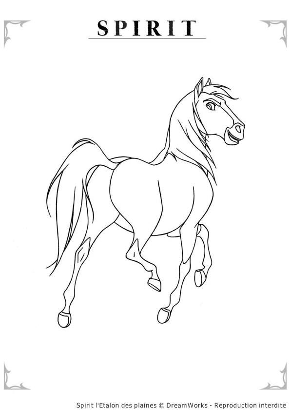 spirit stallion of the cimarron coloring pages # 1