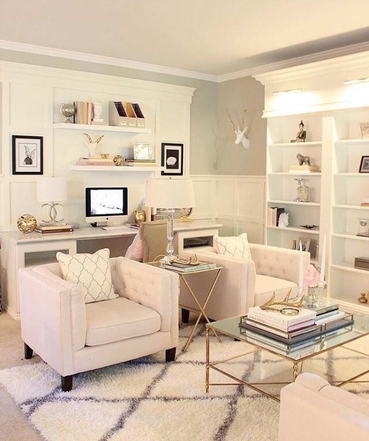 Living Room/office Combo