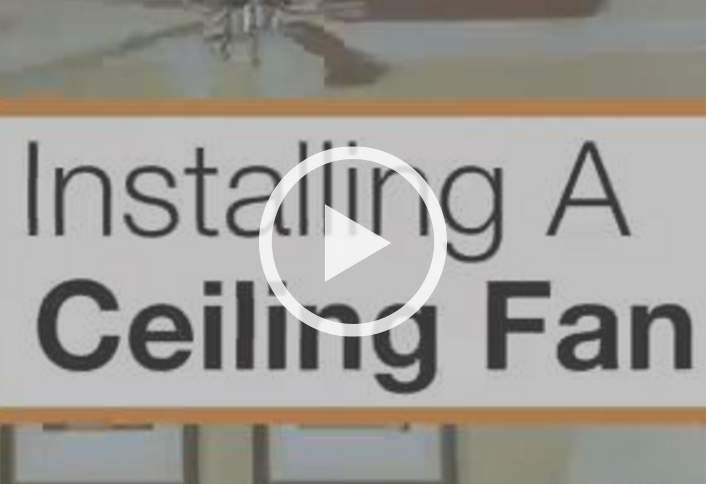 Improve your homes air circulation by following this step by step learn how to install a ceiling fan this home depot guide provides step by step instructions with illustrations and video to install a ceiling fan mozeypictures Image collections