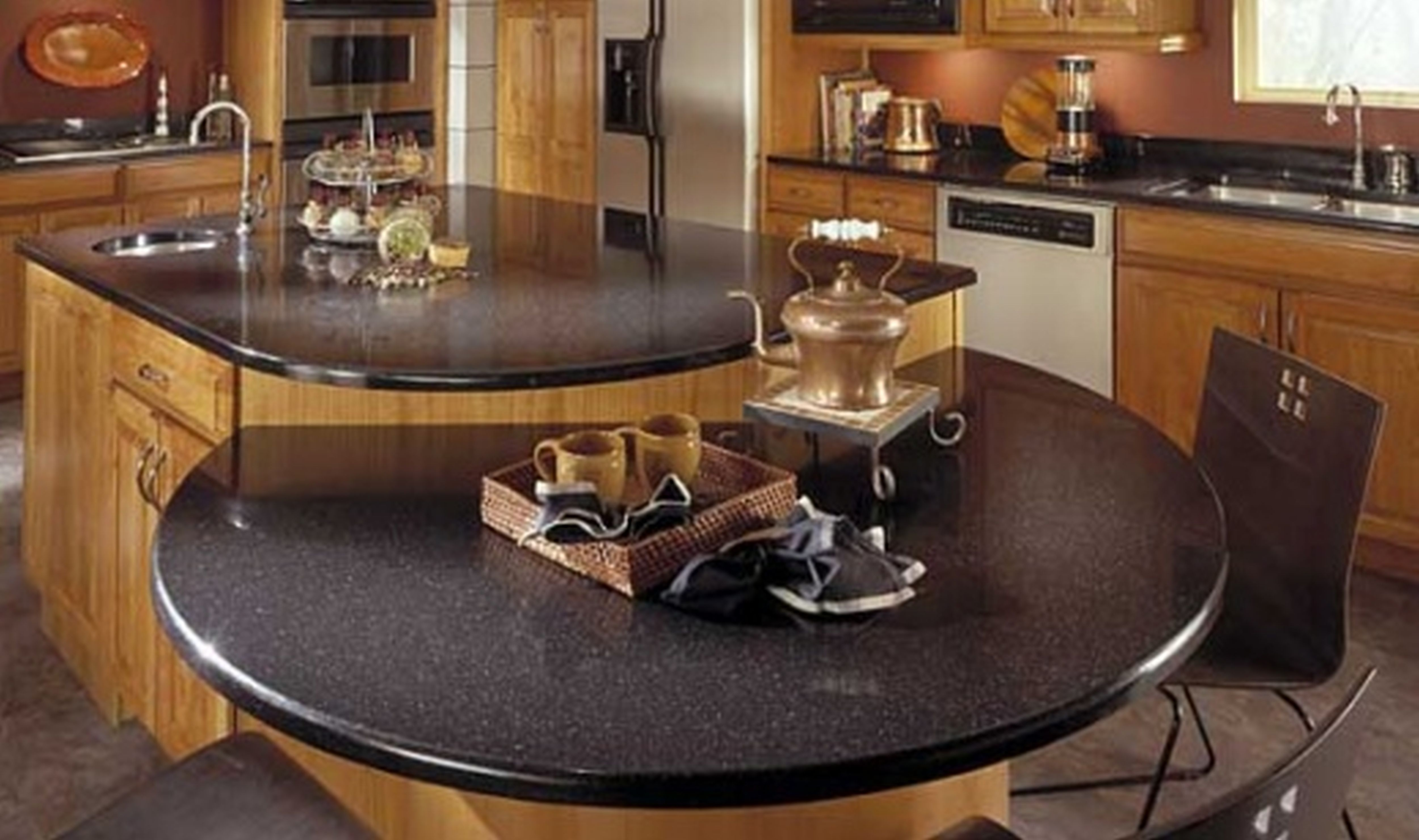 Kitchen: Traditional Kitchen Design With Lowes Quartz Countertops ...