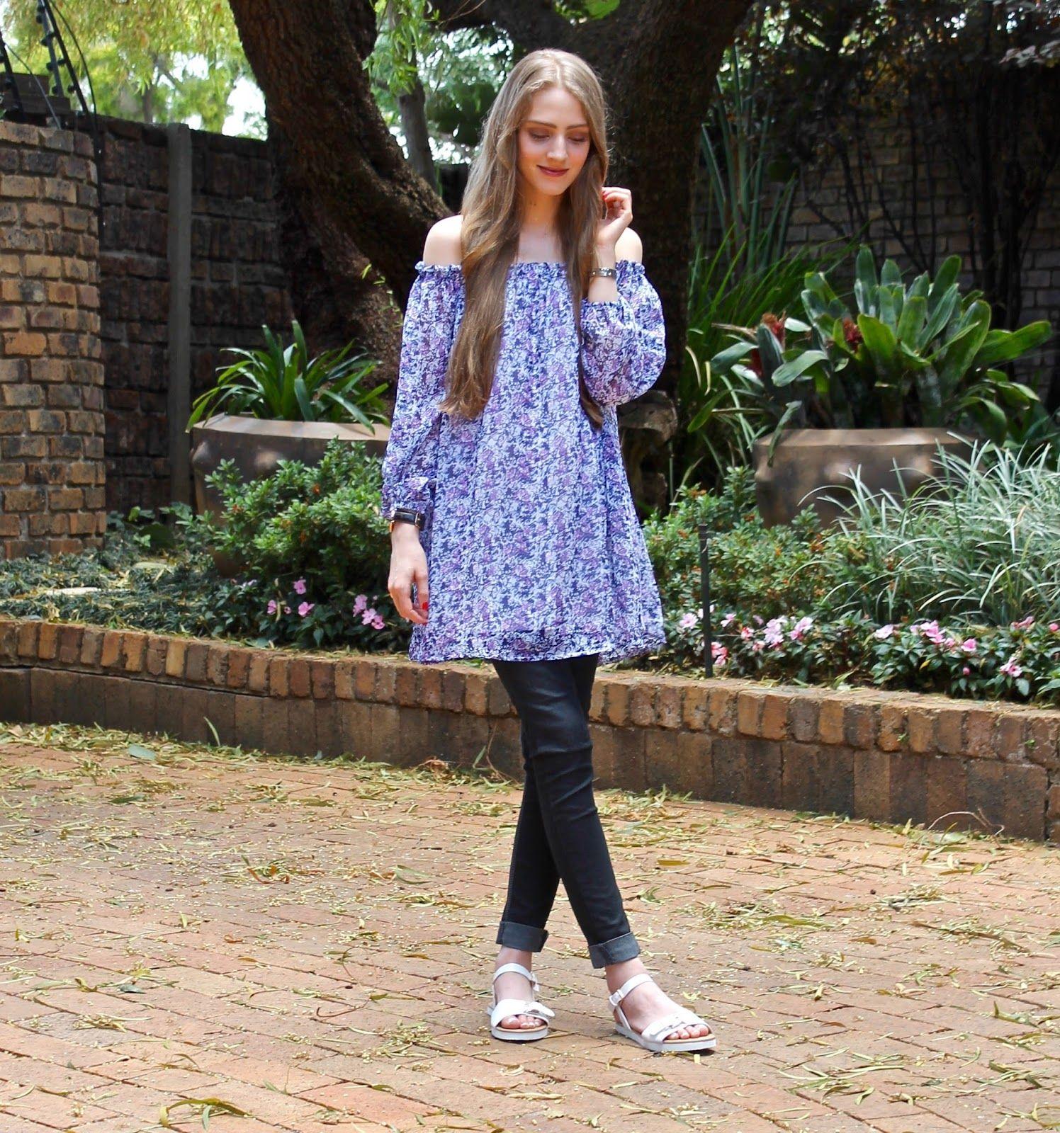 Fashionable Passion #womensfashion #fashionablepassion #dress #skinnyjeans #boho