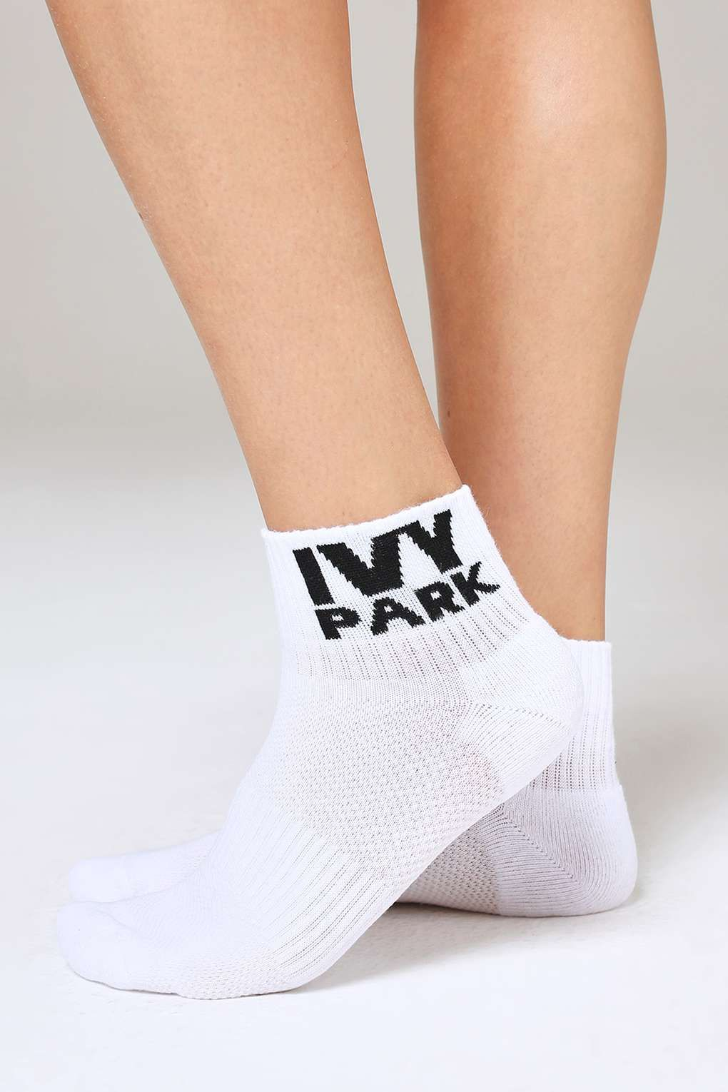 3 Pack Logo Ankle Socks by Ivy Park