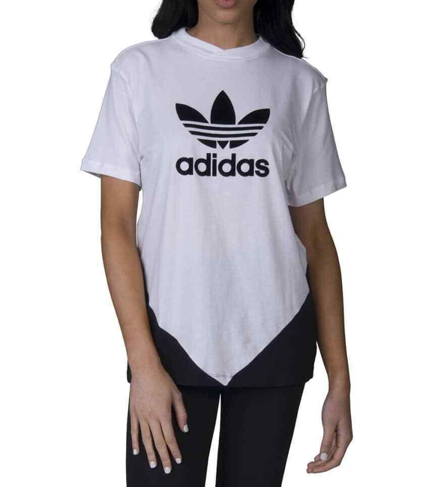 1d36a9c6fd4 Adidas Size Medium Womens White Black CE1741 Trefoil Colorado Tee T-Shirt  NEW #Adidas