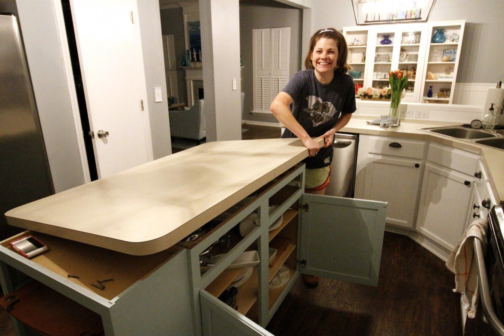 How To Remove Old Laminate Countertops Backsplash Without