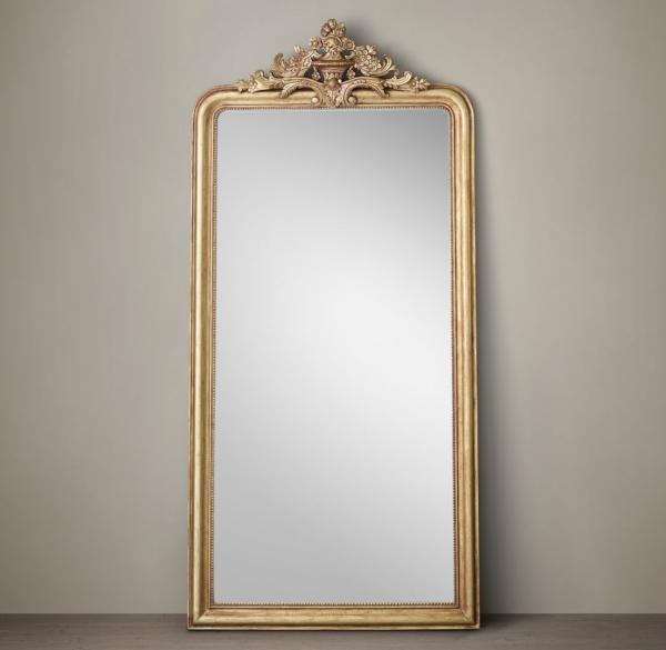 10 Standing Mirrors Perfect For The Fashionista Selfie Gilt Mirror Restoration Hardware Mirror Leaner Mirror