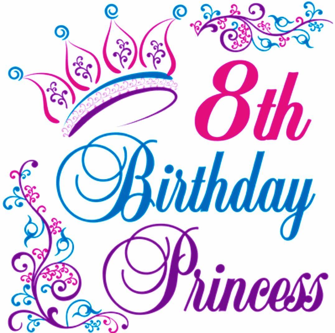 Happy 8th Birthday Images