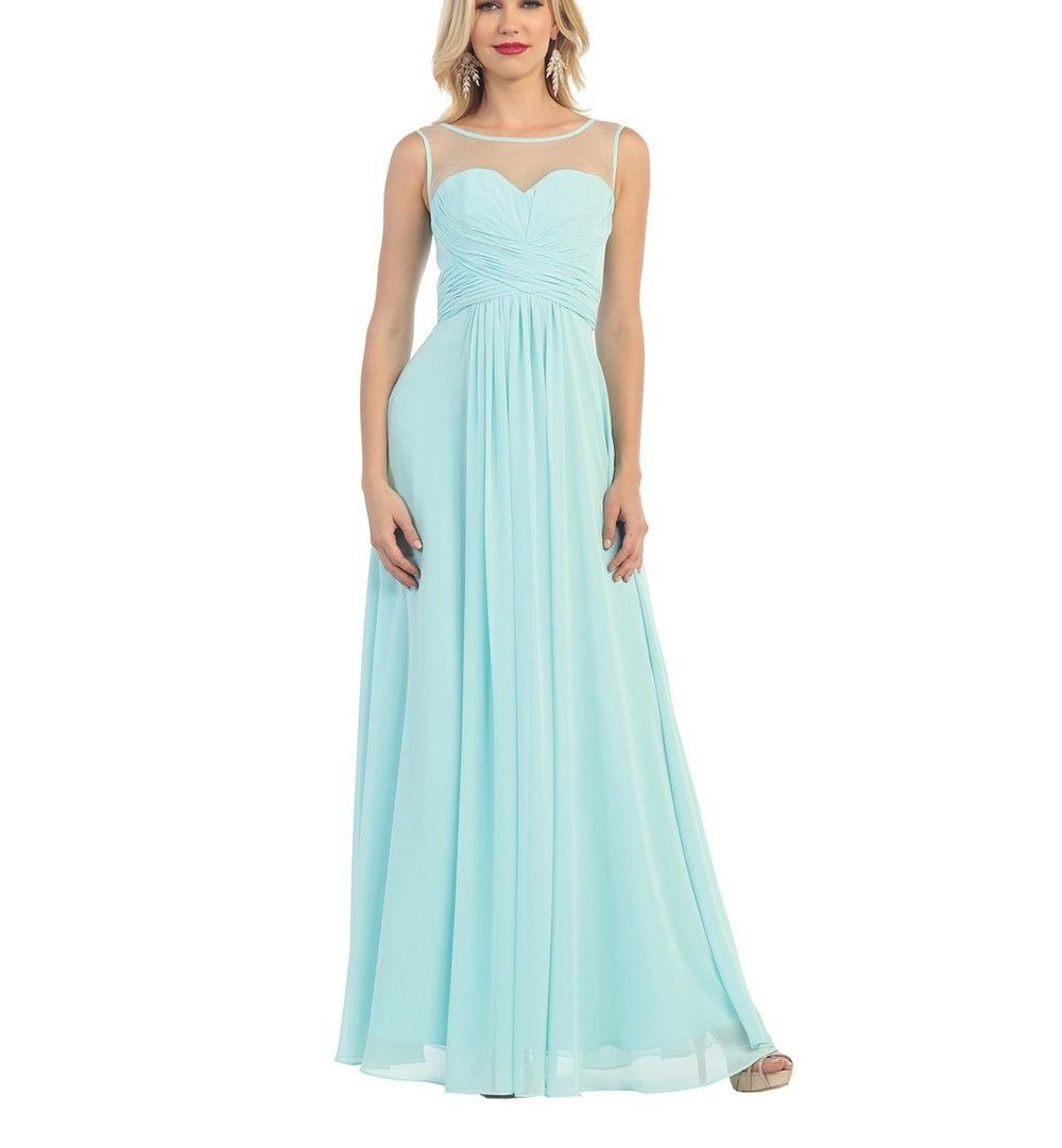 A classy and charming long gown thatus perfect for a special