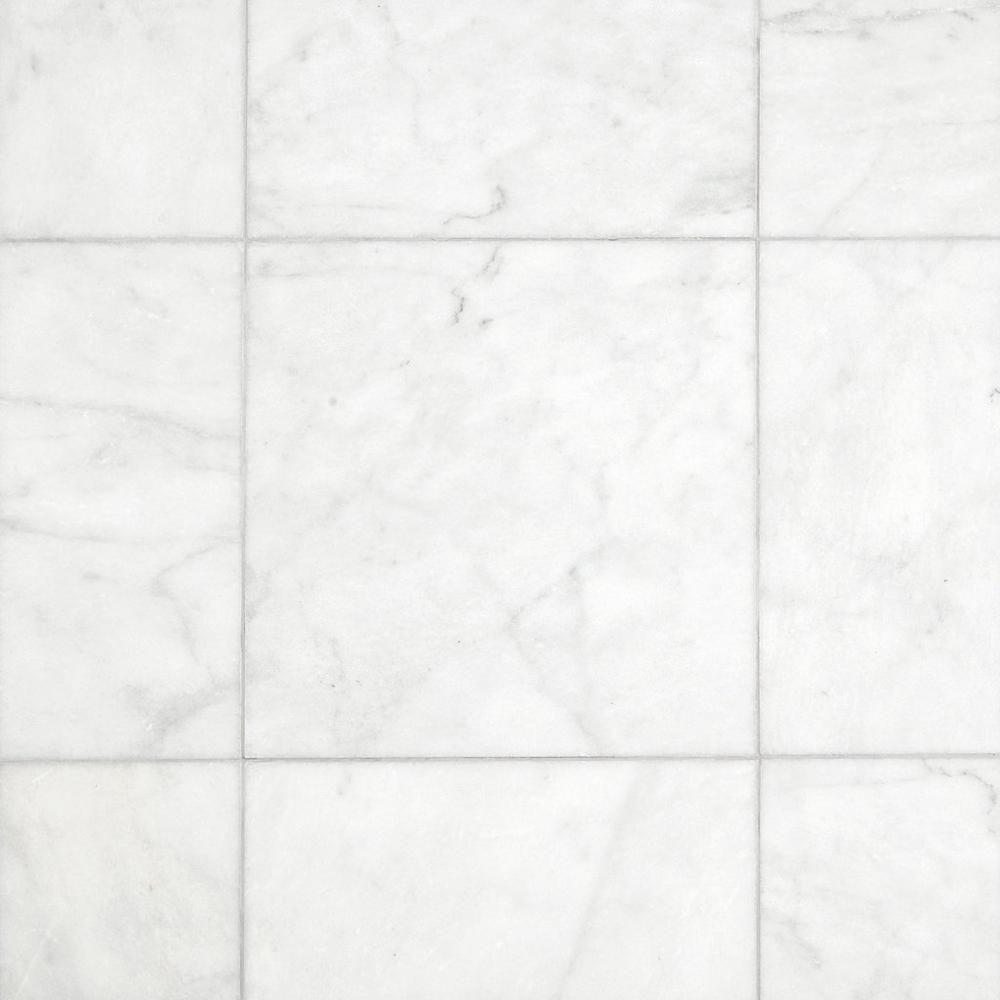 Carrara Milano Honed Marble Tile 18in X 18in 100402395 Floor And Decor Honed Marble Honed Marble Tiles Polished Marble Tiles