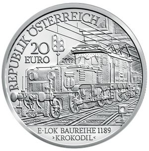 All Aboard! Electric Train on a Silver Coin  #coin #treasure #collection #silver