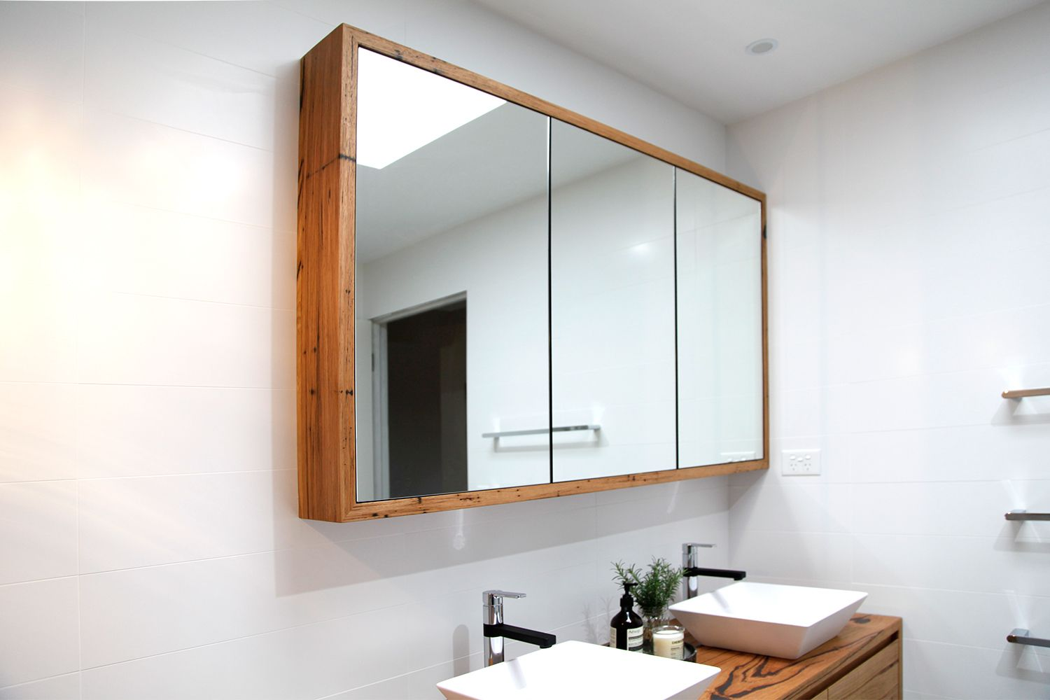 recycled timber shaving cabient | bathrooms | Pinterest | Timber ...