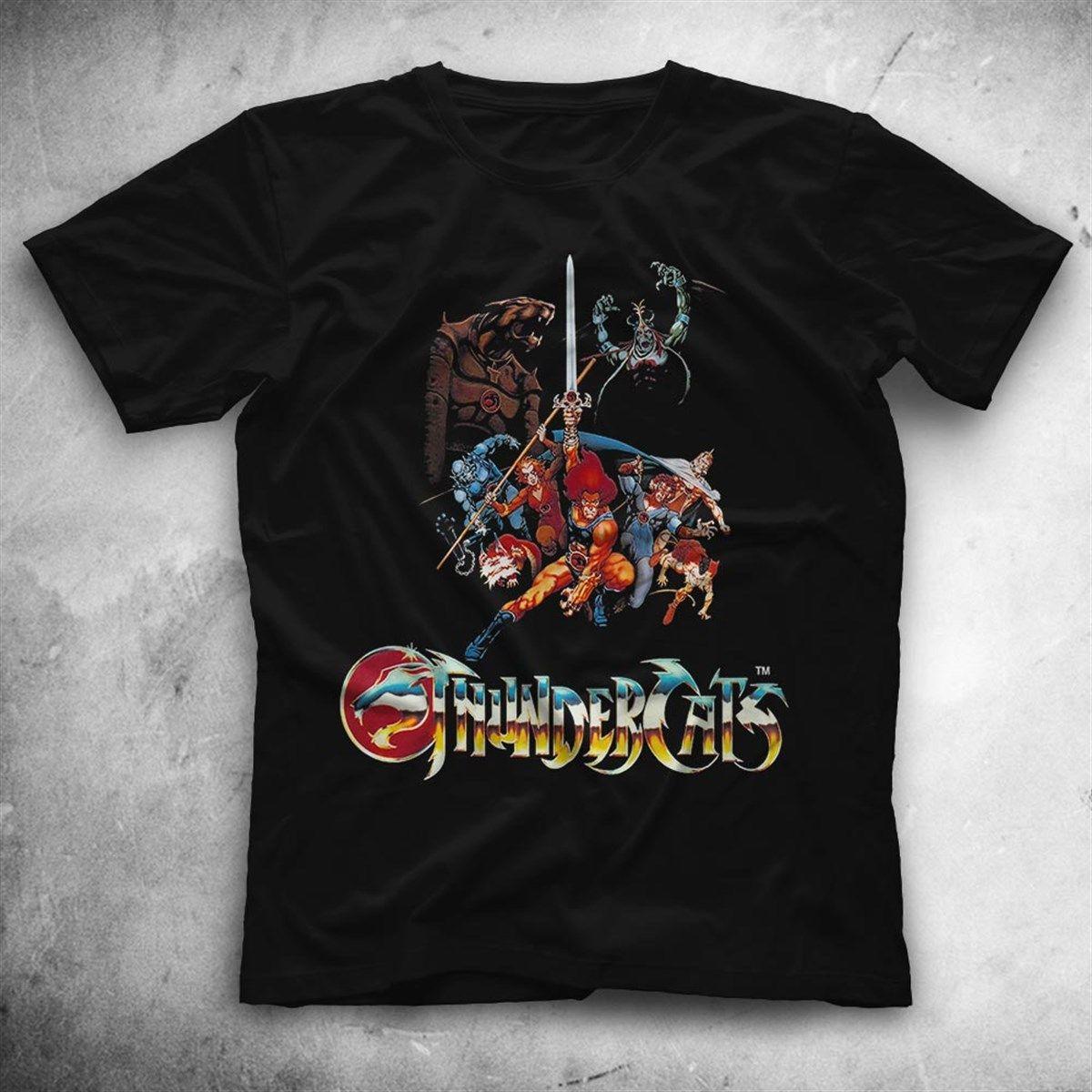 Thundercats Black Unisex T Shirt Tees Shirts
