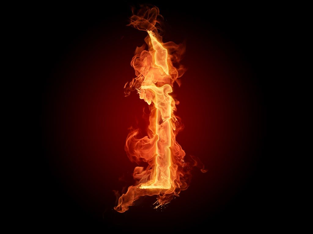 Fire Wallpaper Hd Letters R