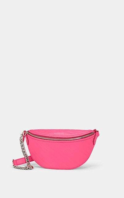 c2b244c78d1 Balenciaga Women's Everyday Leather Belt Bag - Pink | Products in ...