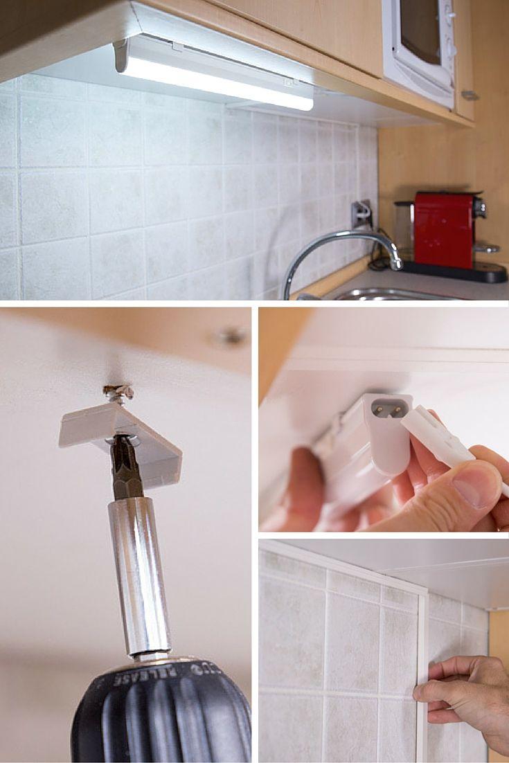 C mo instalar un punto de luz en la cocina b sicos - Luz para cocinas ...
