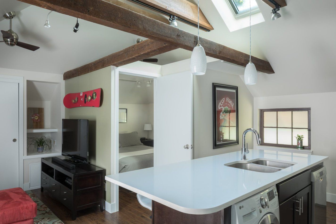 Capitol Hill Carriage House Basement House House Kitchen Inspirations
