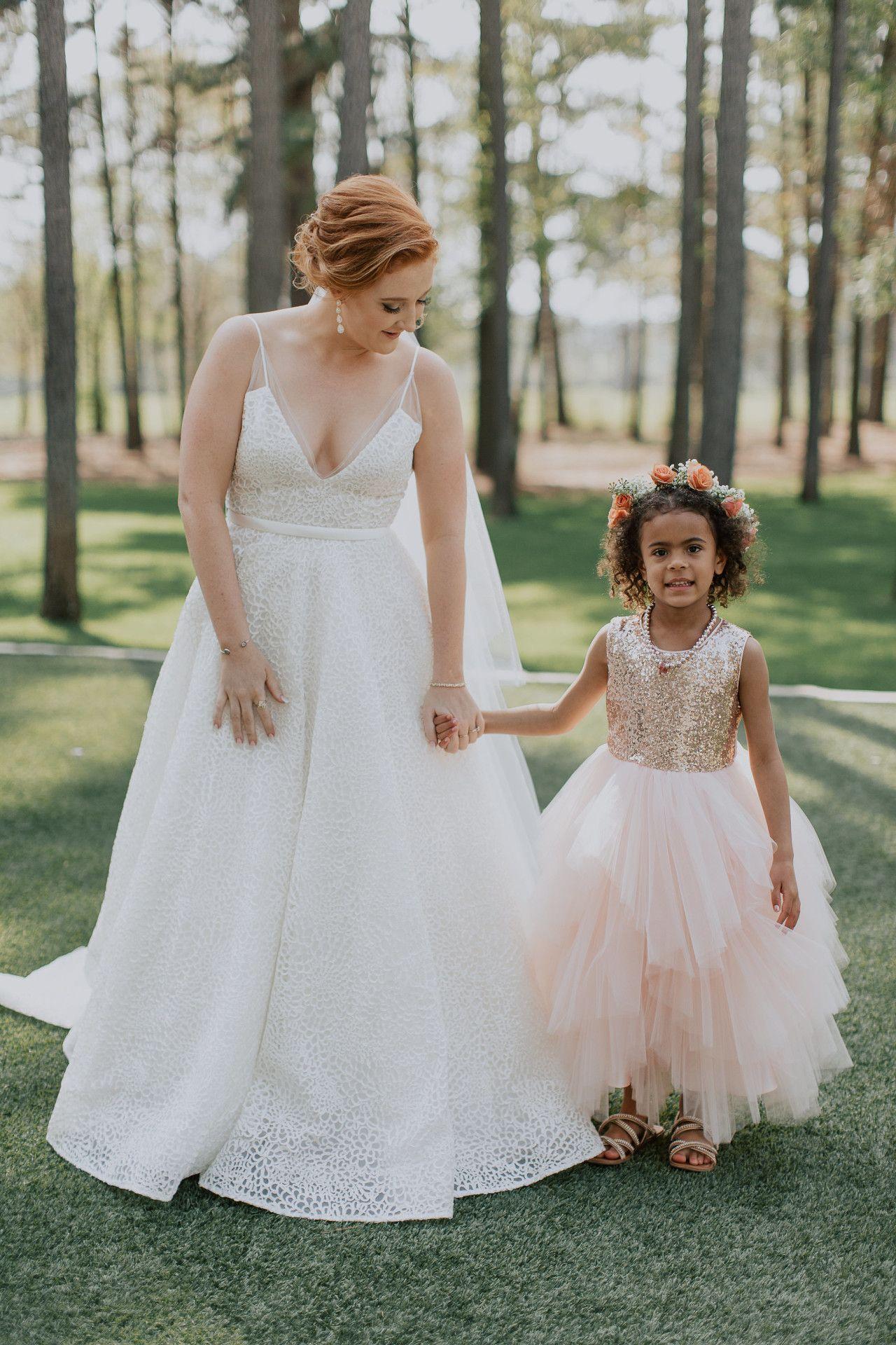 Blush pink girl dress  gold  blush pink flower girl dress  sequin  tulle flower girl