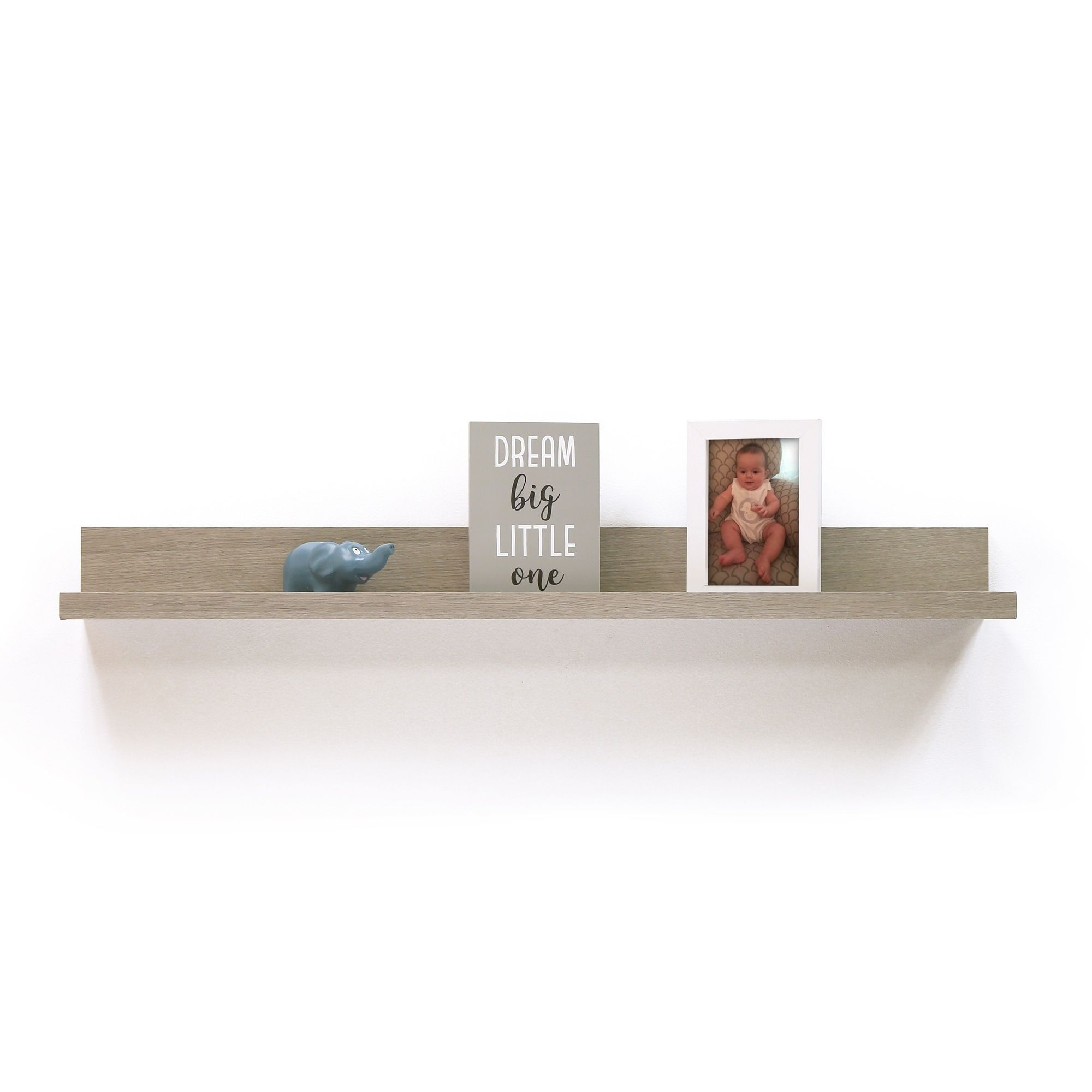 Inplace 36 Inch Grey Driftwood Picture Ledge Gray Hyman Inc Wall Shelves Driftwood Shelf Picture Ledge Shelf