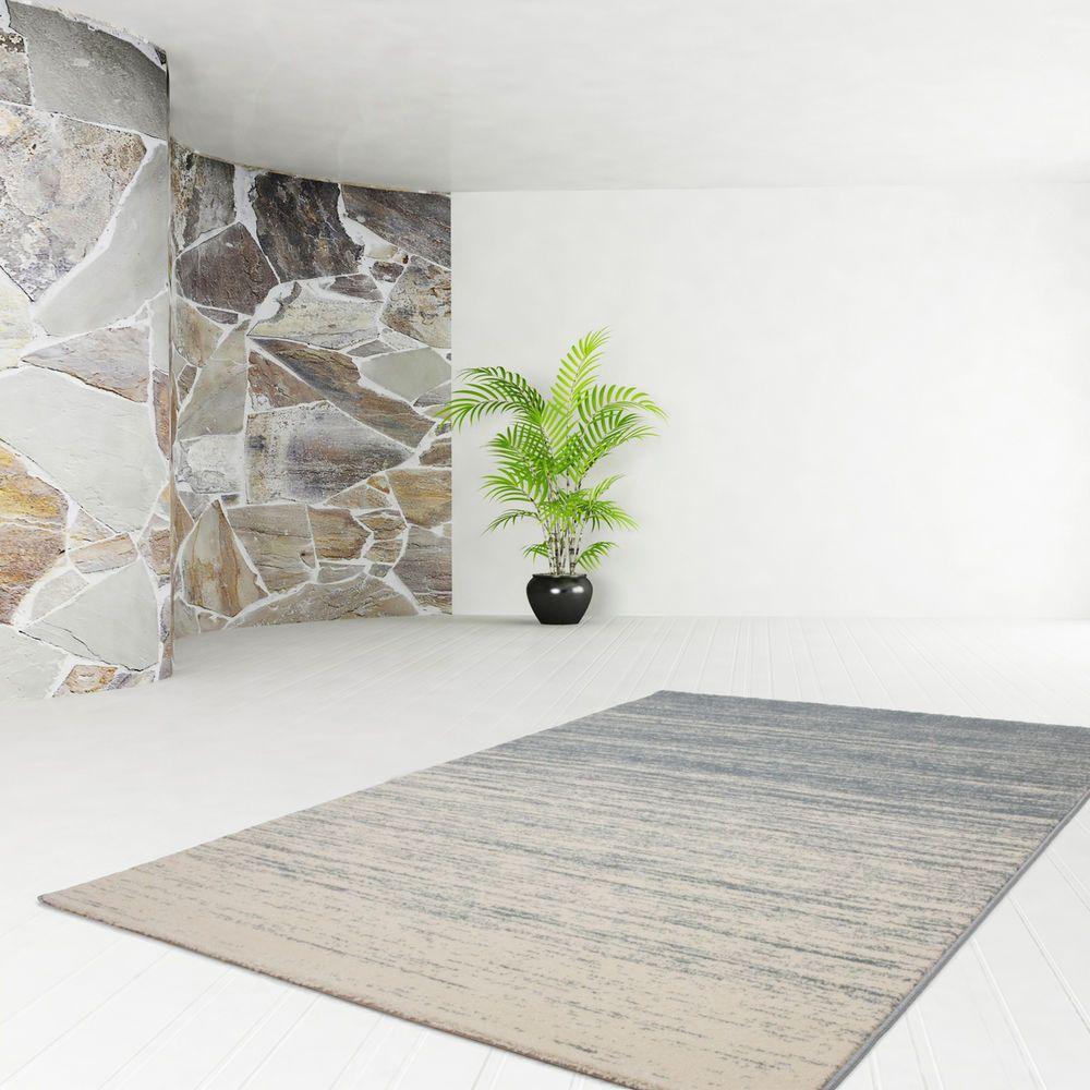 Teppich Fussboden Design Fame 530 Blau 120cmx170cm A101974 Design