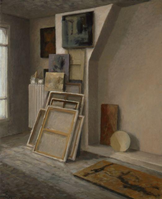 L\u0027atelier de montmartre Anne Françoise Couloumy-2011 Art