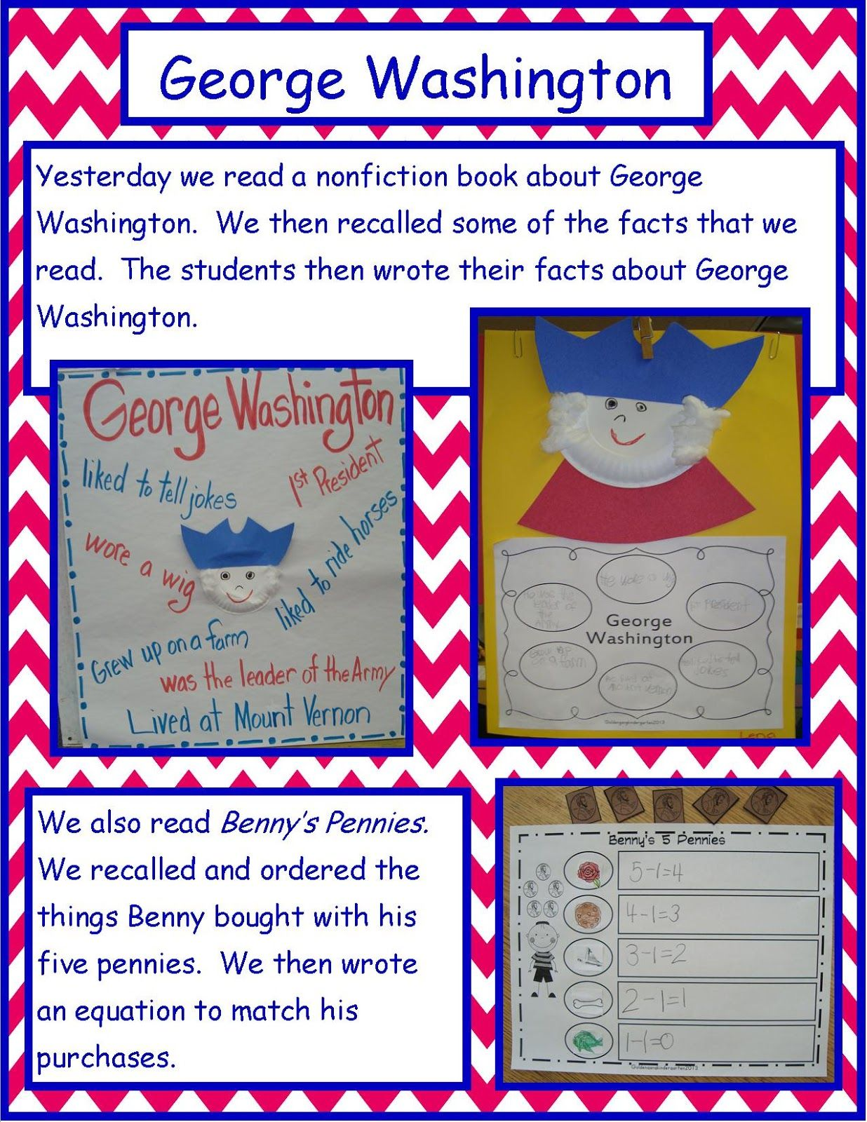 Golden Gang Kindergarten George Washington And Benny S
