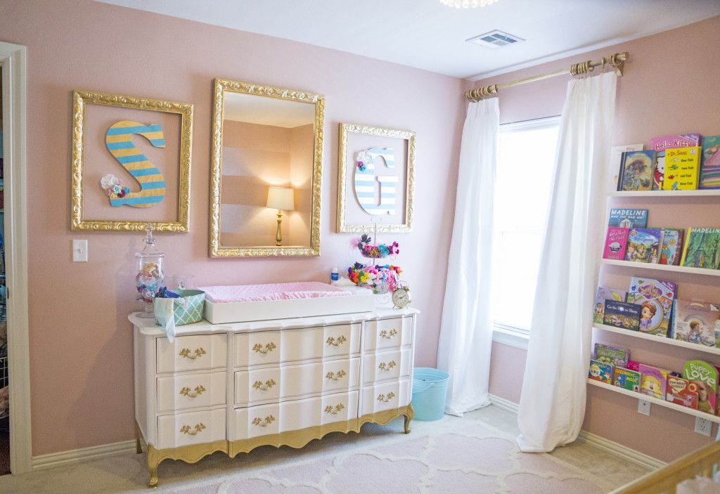 Sophie S Pink And Gold Nursery Gold Nursery Pink Gold Nursery