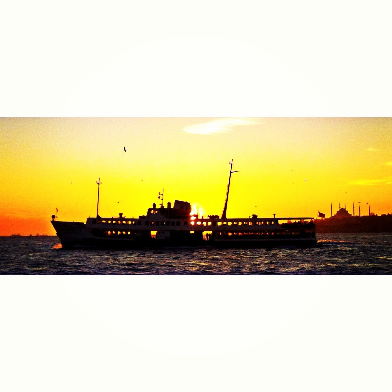 #vapur #istanbul #sunset