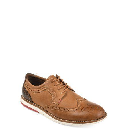 2017 Classic Florsheim Midtown MediumXWide Plain Toe Oxford Cognac Leather