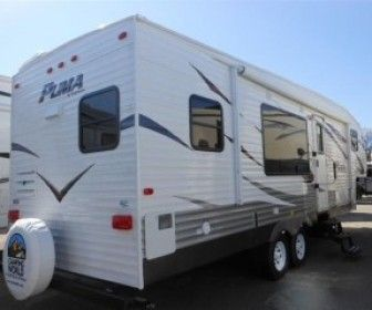 2012 Used Forest river Puma 303RKSL Fifth wheel for sale ...